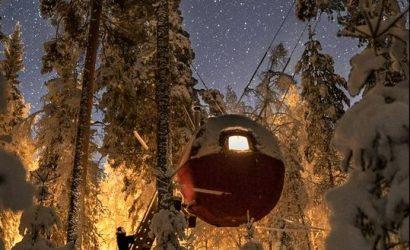 uniek overnachten zweden glamping